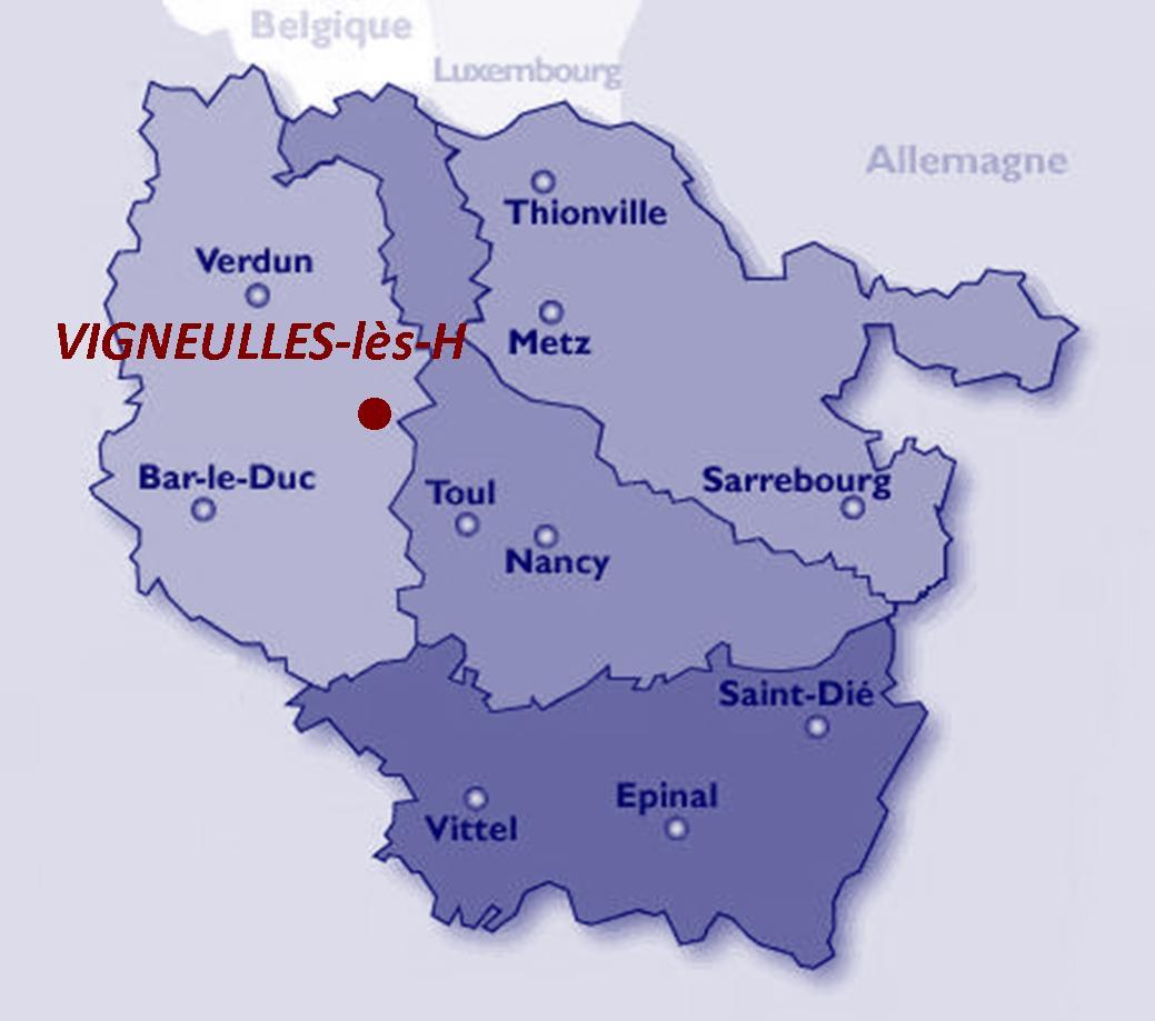 """Coordonnées GPS : 48°58'44.76""""N 5°41'44.51""""E"""